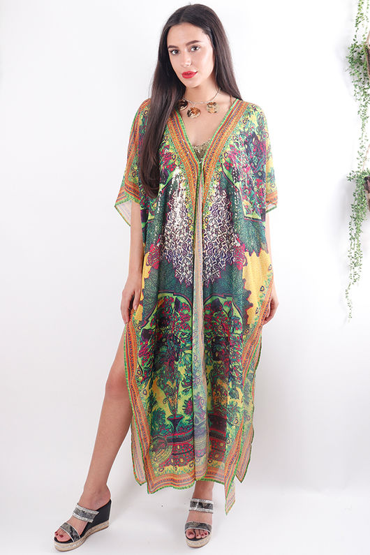 The Lopez Long Kaftan