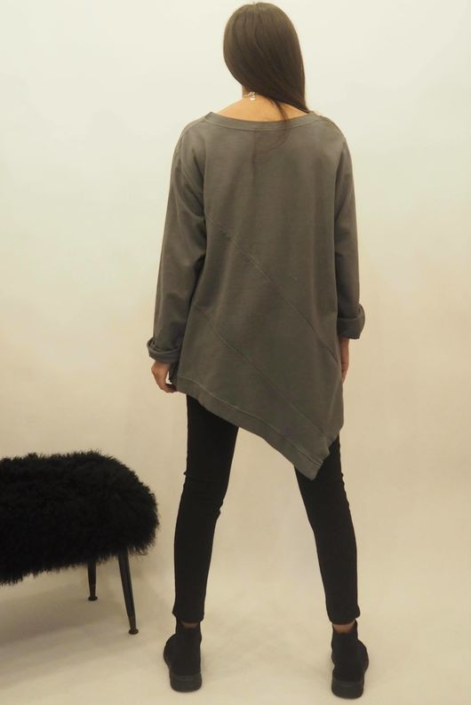 The Lux Asymmetric Sweat Graphite