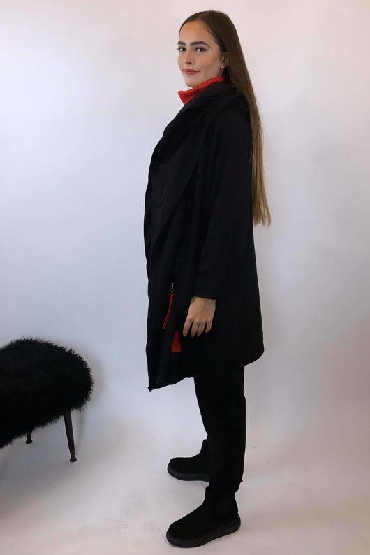 The Mercer Double Jacket Black