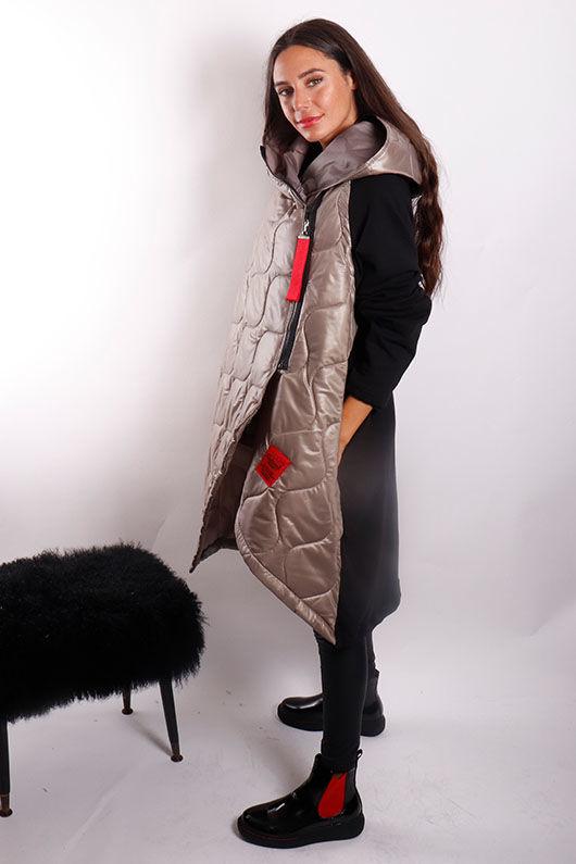 The Mercer Oversized Crossfit Jacket Mushroom
