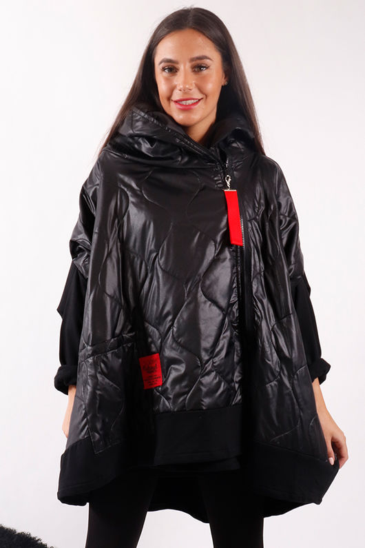 The Mercer Oversized Slouch Jacket Black