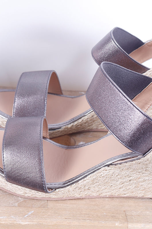 The Midi Wedges Pewter
