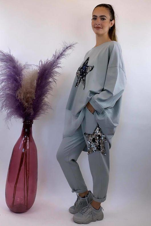 The Sequin Star Co-Ord Dove