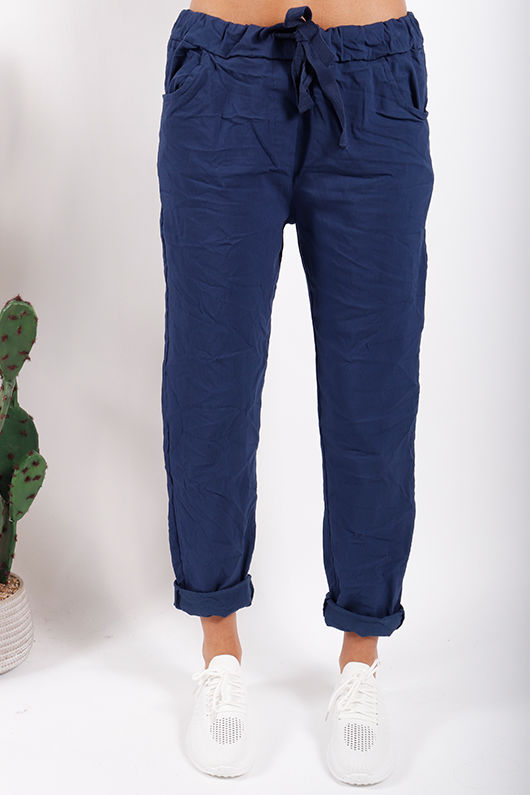 The Crinkle Smart Jogger Navy
