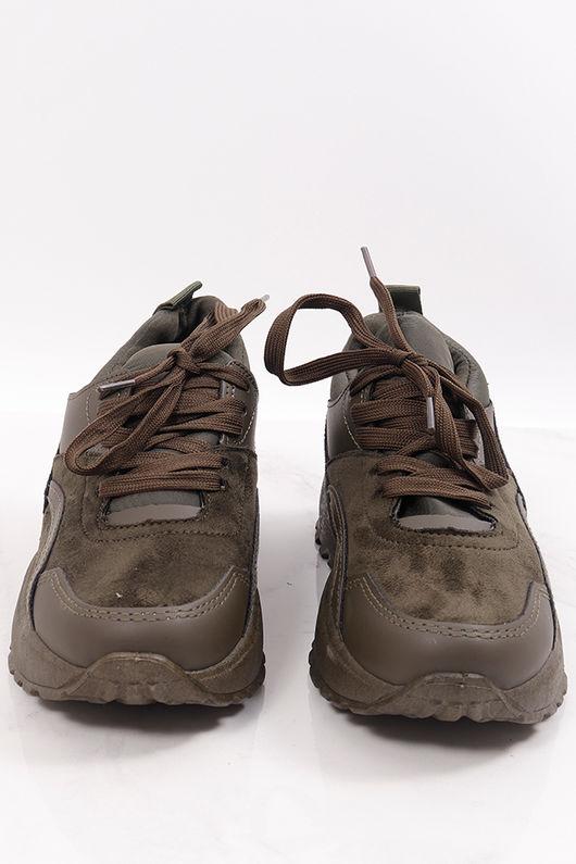 The Stella Sneaker Khaki