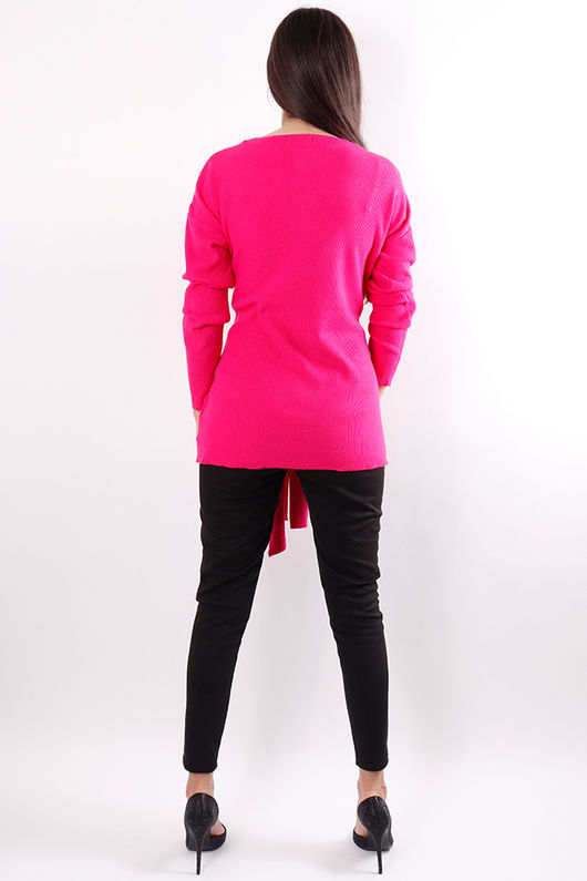 The Wrap Knit Pink