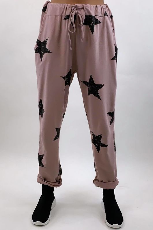 Vintage Star Joggers Dirty Rose