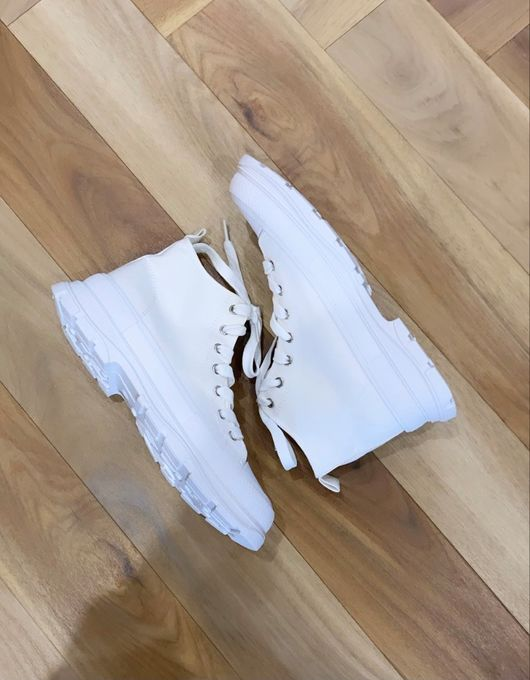 The Hi Top Stack White