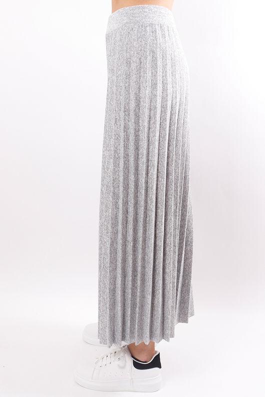 Winter Culotte Grey Marl